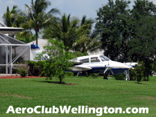 The runway at the Aero Club will accomodate twin-engine aircraft.